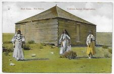 Vintage Pc - Block House Fort Simcoe Yakima Reservation