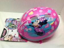 Disney Minnie Mouse Toddler Kids Bike Helmet Ages 3-5 New With Tags