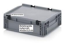 40x30x13,5 cm Plastik Behälter Boxen Kiste Büro Haushalt Ordnung Sortierung H400