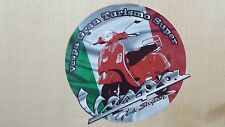 Vespa Impreso Sticker, Decal, Mod, Lambretta, Northern Soul, Scooter, Italiano