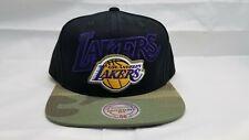 MITCHELL & NESS SNAPBACK HAT.  NBA.  LOS ANGELES LAKERS.