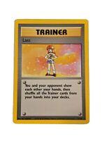 Trainer RARE Lass 75/102 Base Pokemon Card