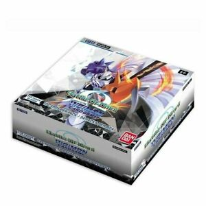 Digimon Card Game Battle of Omni Booster Box   BT05 English TCG   Factory Sealed