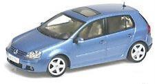 Rare Blue Vw Golf V 1/43 scale diecast Autoart 2003 golf 5 volkswagen 59771 Nib!