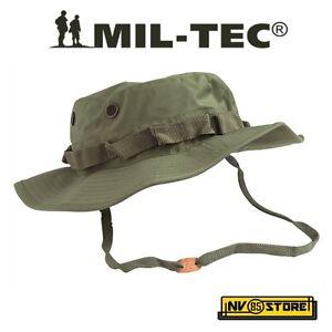 Boonie Hat US Trilamine 3 Lamine IMPERMEABILE 100% Cappello Militare Softair OD