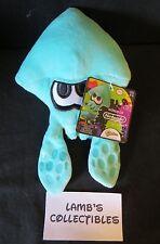 "World of Nintendo Turquoise Squid Splatoon plush 7.5"" plush Jakks Pacific Doll"