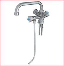 Mischbatterie für Schanktresen 1 Becken Niederdruck, Kalt- und Warmwasser