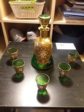 New listing Vintage Decanter With Shot Glasses