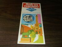 1970 GRAY LINE REALLY SEE CHICAGO BROCHURE