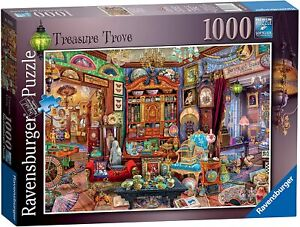 Jigsaw Puzzle - TREASURE TROVE - 1000 Pieces