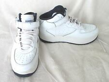 Women's Nikken Weighted Workout White Cardio Stride Training Shoes Style F Sz 9M
