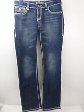 Stone Eagle Blue Denim Jeans Women Size 7 Rope stitching