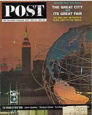 Saturday Evening Post May 23 1964 New York Great City and Fair The Golden Door
