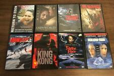 Horror DVD lot My Bloody Valentine 3D King Kong Abominable Night Flyer Crawl +