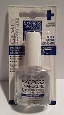 Vernis à Ongles Express Manucure Sèche Vite + Tenue Ultime Gemey Maybelline