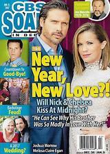Joshua Morrow & Melissa Claire Egan  January 9, 2017 CBS Soaps In Depth Magazine