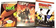 Spy Kids | Kung Fu Hustle | The Mask DVDS
