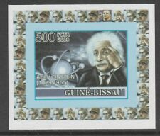 Guinea Bissau 5652 - 2008 ALBERT EINSTEIN  imperf deluxe sheet unmounted mint