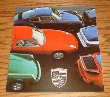 Original 1978 Porsche Full Line Sales Brochure 78 924 911 SC Turbo 928