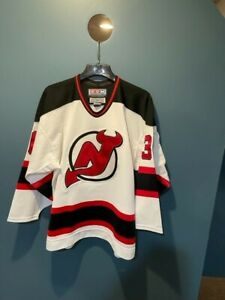 Authentic Martin Brodeur New Jersey Devils Ultrafil CCM Away Jersey - 48