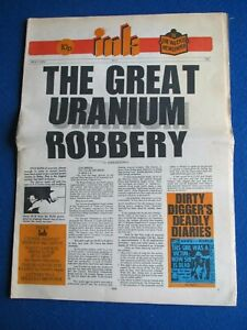 INK ... Underground counter-culture newspaper  Issue 1  - May 1971