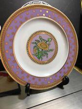 "VERSACE Floral PLATE Rare ROSENTHAL Vintage 8"" limited SALE"