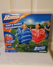 NIB* BANZAI Bump N Bounce Body Bumpers Bump and Bop Action