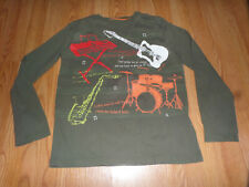 Mini Boden Music Instrument Top Size 11-12 Piano Gutair Drums Sax