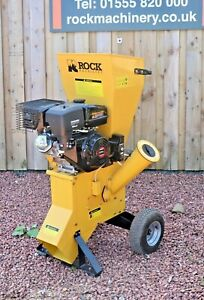 15HP Value Compact Series Chipper Shredder By Rock Machinery