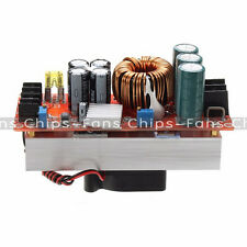 1500W 30A DC Boost Converter Step-up Power Supply Module IN 10-60V OUT 12-90V UK