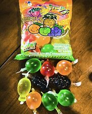 TiK Tok  FRUITYS Jelly Fruit Challenge JU-C Dely Famous Candy Snack 8 Pc. Bag 💫