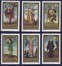 2004 LIECHTENSTEIN N°1282/1287** SERIE NEUVE  RELIGION LES SAINTS