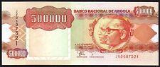 1991 (1994) Angola 500000 Kwanzas Banknote * JV 0607521 * UNC * P-134 *