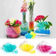 Colorful 500PC Crystal Mud Soil Water Bead Bio Gel Ball For Flower Weeding Decor