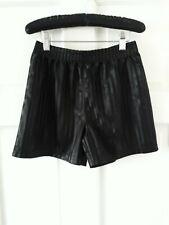 New listing George Black 8 - 9  Yrs  PE Shorts Elasticated Waist with stripes..