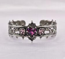 Elizabethan Heart Bracelet - Alchemy Gothic Mystical Marriage Love Talisman