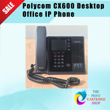 Polycom CX600 Desktop Office Business IP VoIP Phone Handset Microsoft LYNC