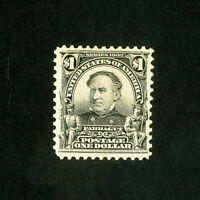 US Stamps # 311 XF Brite and fresh OG LH Scott Value $600.00
