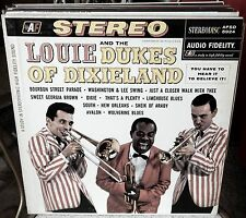 JAZZ- AUDIO FIDELITY STEREO-AFSD-5924-LOUIE ARMSTRONG-DUKES OF DIXIELAND-LP