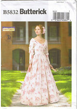 Southern Belle Victorian Gathered Pleated Dress Sewing Pattern 14 16 18 20 22