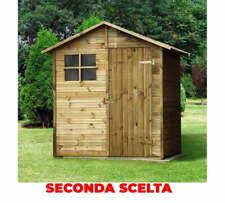 Casette Box da Giardino in Legno 180x135x225 cm Ecla Seconda Scelta