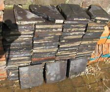 200 Reclaimed  victorian 6x6 inch Red & Black terracotta Quarry Tiles.