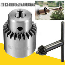 0.3-4mm JT0 Taper Mounted Mini Electric Drill Chuck Adapter Grinder Rotary Shaft