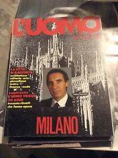 L'UOMO VOGUE N°178 1987 - SPECIALE MILANO + ALLEGATO SPECIALE 20 ANNI
