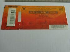 U2 - BILLET DE CONCERT  - TICKET ORIGINAL COLLECTOR - RARE -  SDF  PARIS  2010