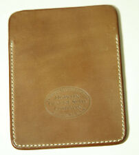 New Horween Gabarro Shell Cordovan Tan Leather Card/Coin Case Free Shipping!