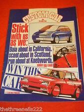 CUSTOM CAR - BAJA ABOUT IN CALIFORNIA - DEC 1984