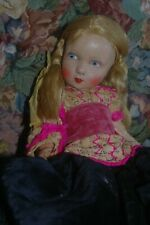 Antique Papier Mache Doll Robert Maaser Puppenfabrik 1900' no.110/35