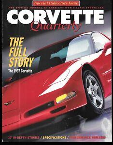 Corvette Quarterly Special Collectors Edition 1997 170 MPH House C5 Materials