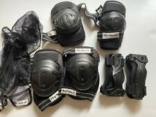 Rollerblade protective pads-Wristguards, Knee and Elbow pads-Small-w/organizer.